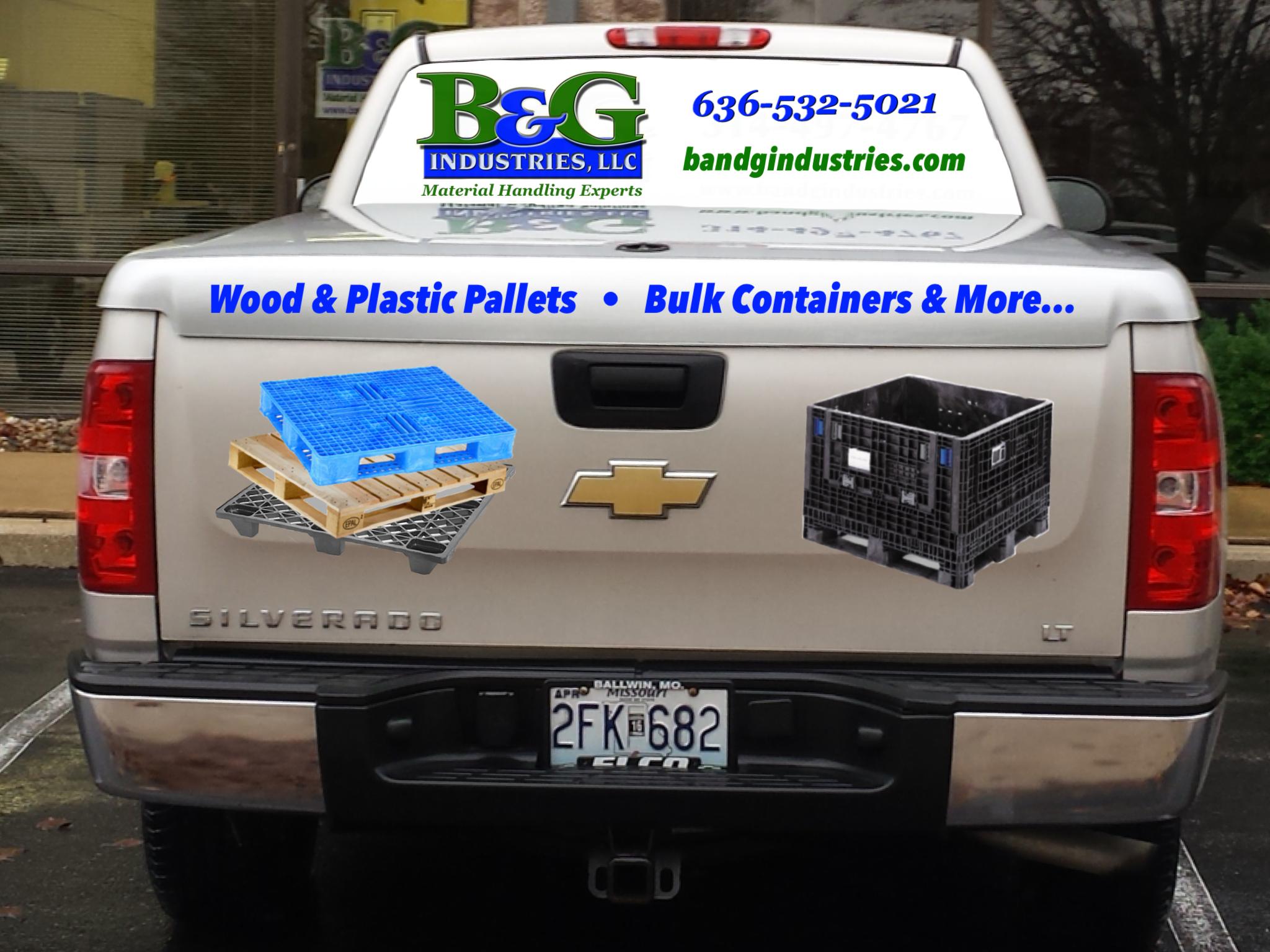 B&G Vehicle Vinyl & Window Perf