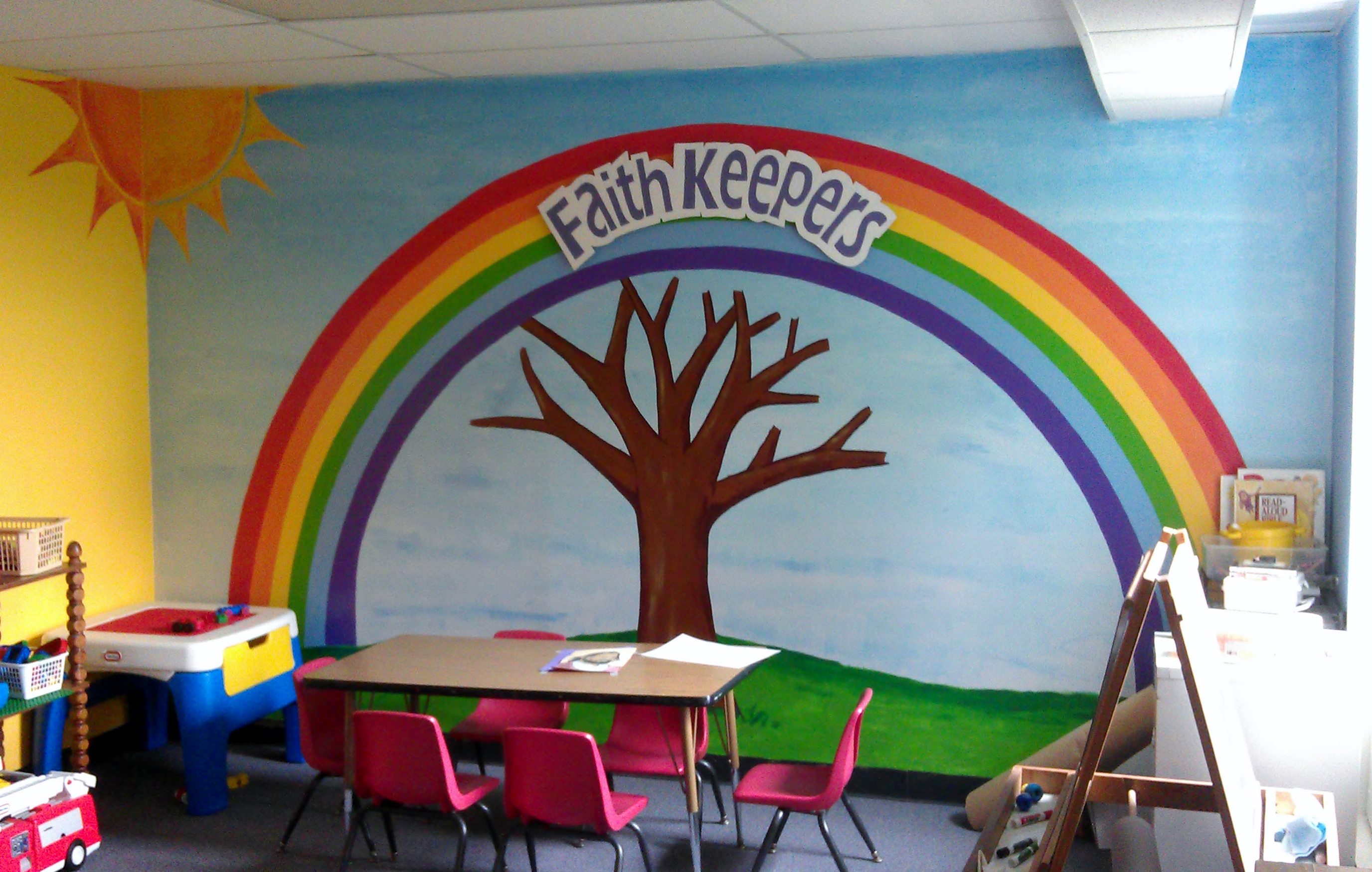 Sunday School Mural